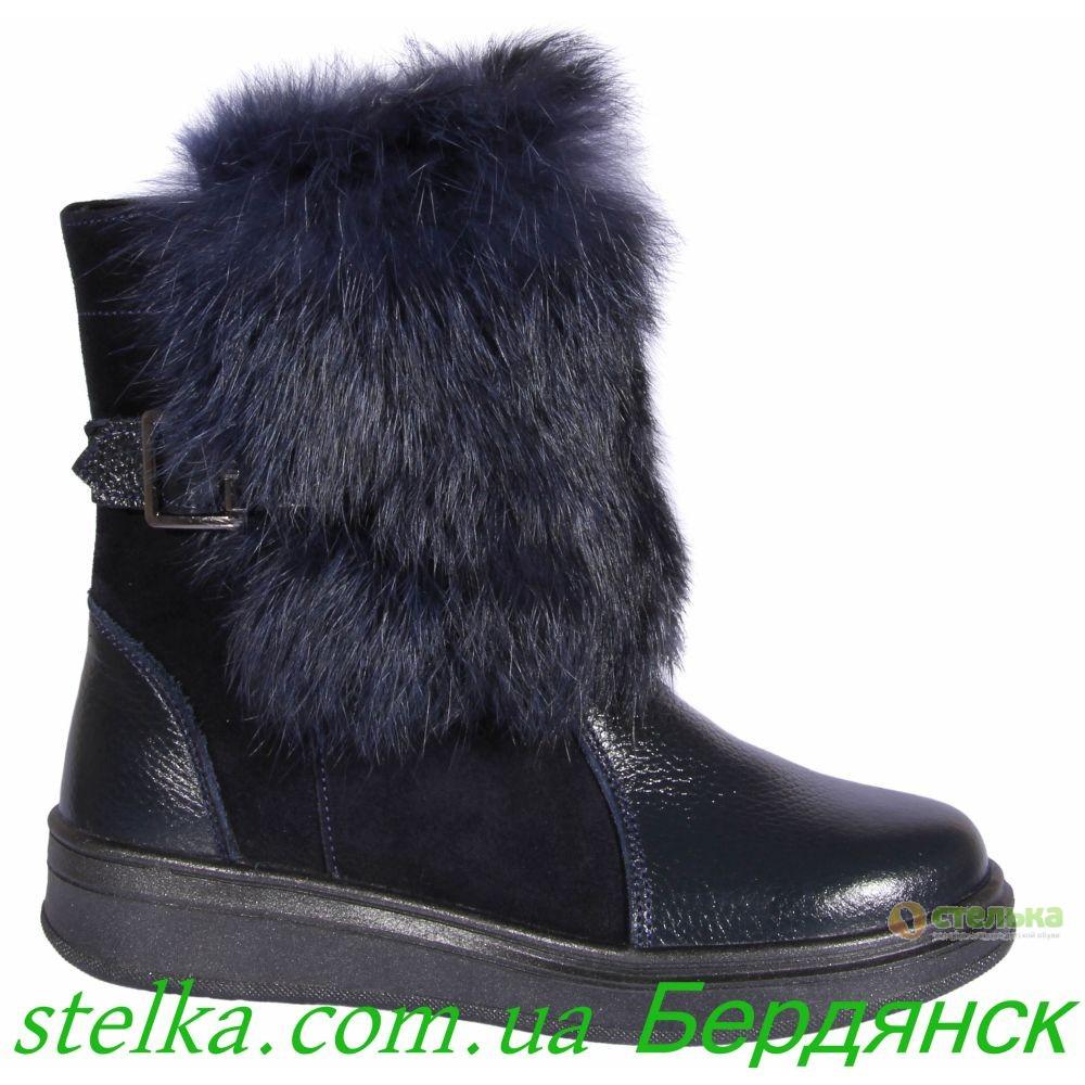 Подростковая зимняя обувь для девушек, зимние сапоги - Tobi, 6322-1