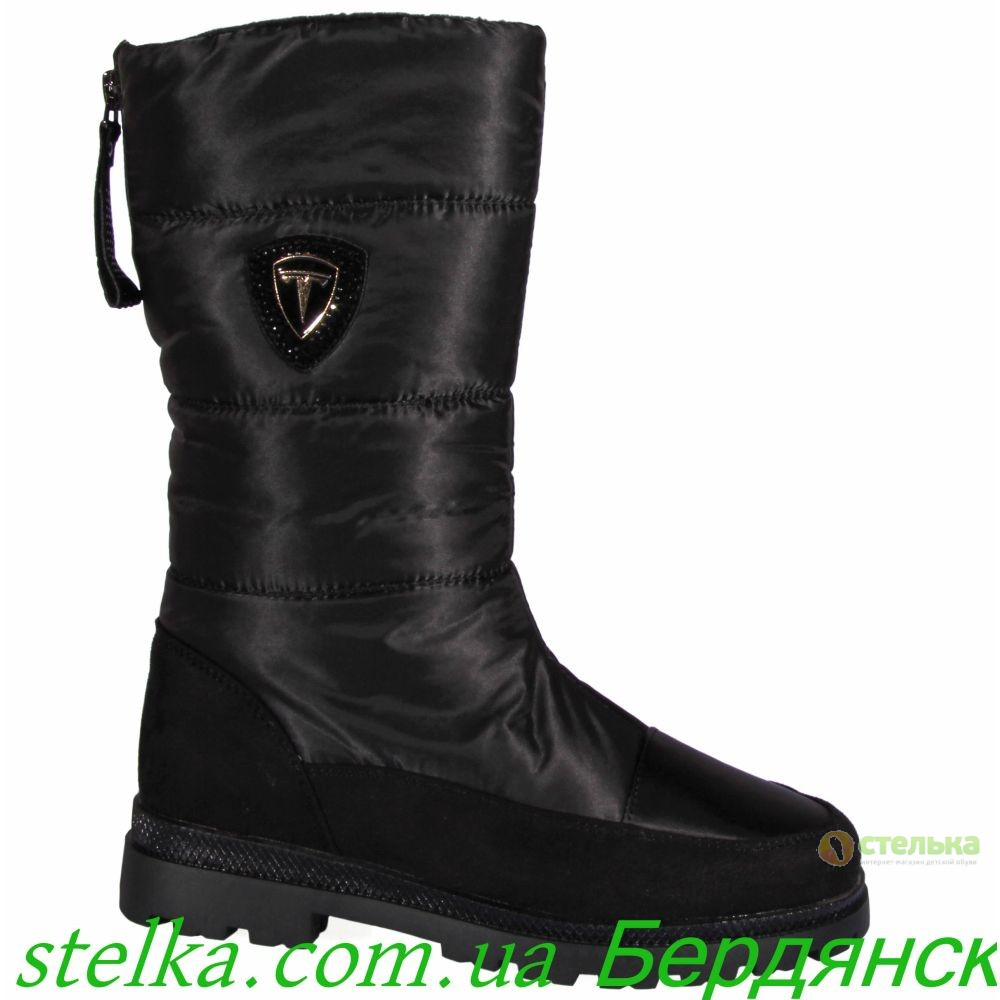 Termo обувь для девочки подростка, зимние дутики Weestep, 6329-1