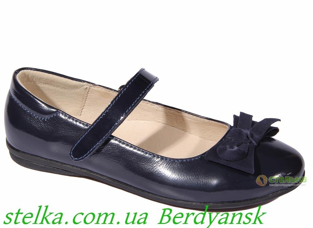 Школьная обувь, детские туфли для девочек, ТМ Lapsi, 6545-1