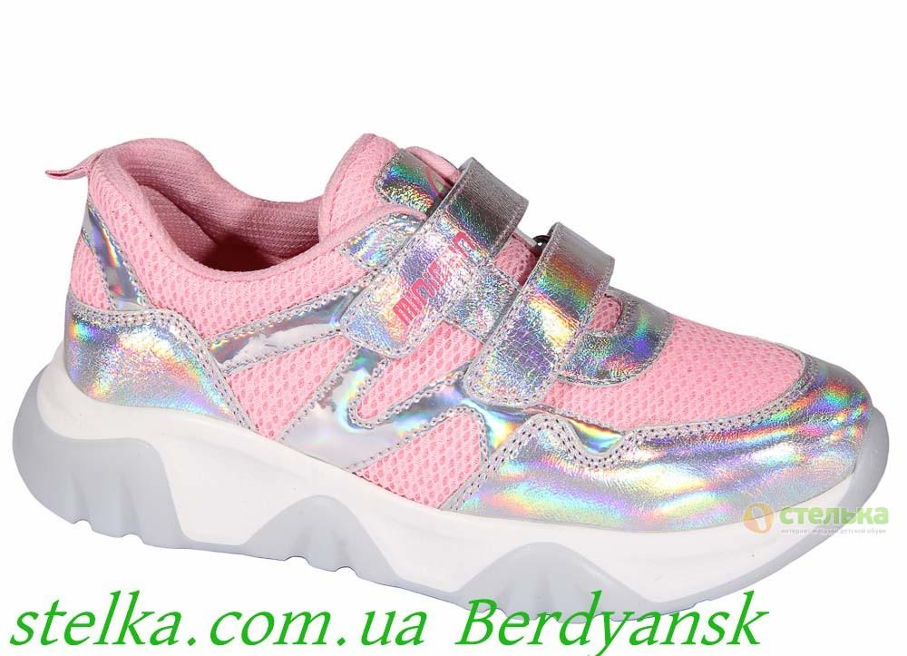 Детские кроссовки для девочки, обувь Minimen, 6816-1