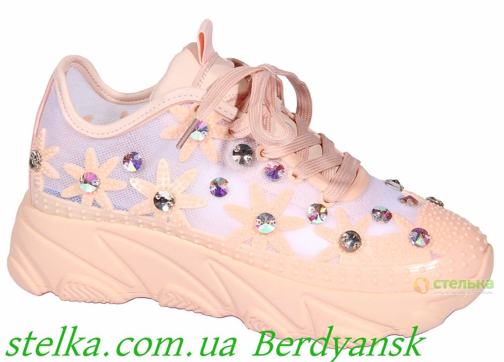 Подростковые кроссовки для девушки, обувь Marko, 6818-1