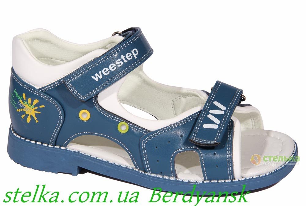 Детские профилактические босоножки для мальчика, обувь Weestep, 6878-1