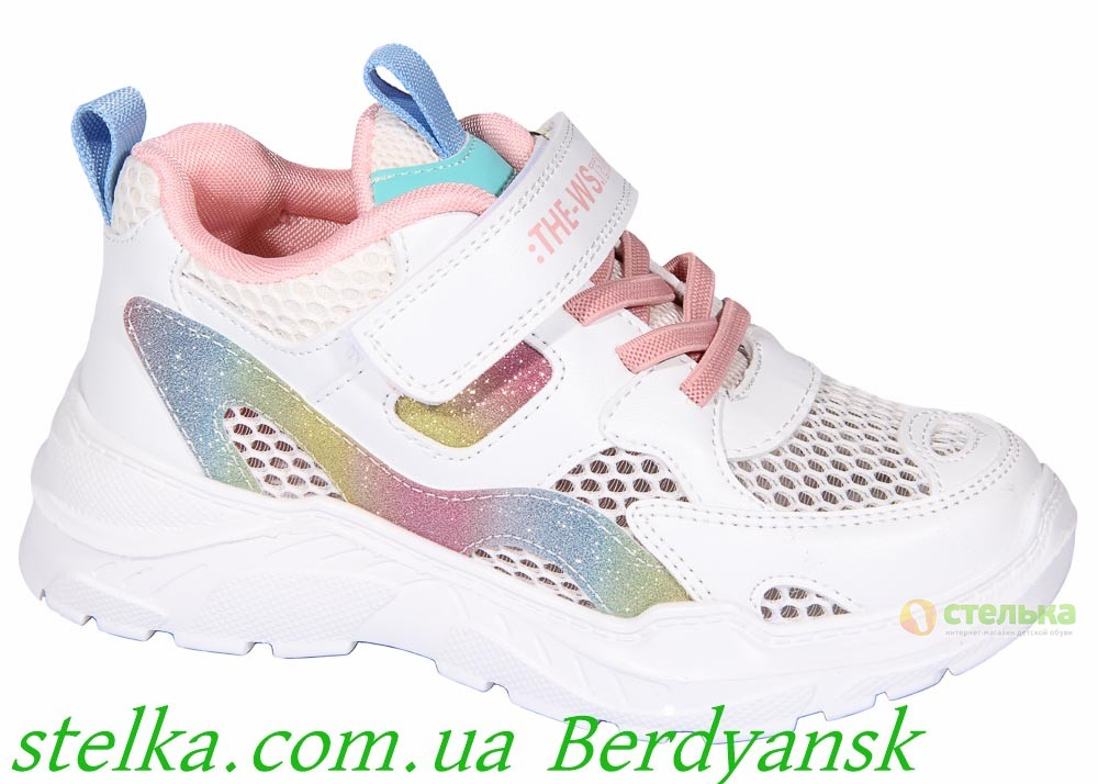 Детские летние кроссовки для девочки, ТМ Weestep, 6886-1