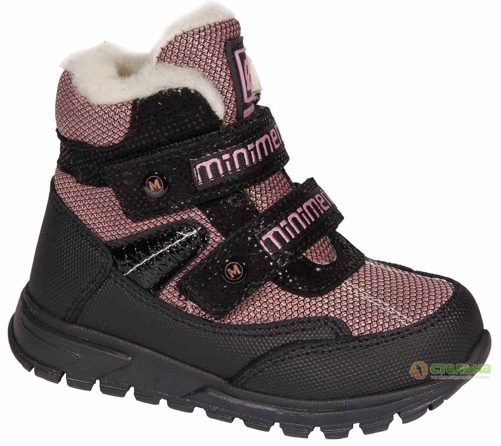 Зимняя обувь для малышей, ботинки для девочки ТМ Minimen - профилактика, 7010-1
