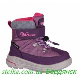 Зимняя термо обувь для девочки, детские ботинки B&G Termo 6295-1
