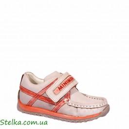 Детские полуботинки для мальчика, обувь Minimen, 5004-1