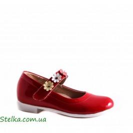 Красные лаковые туфли, обувь Foletti, 5424-1