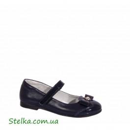 Кожаные школьные туфли для девочки, Fess обувь, 5852-1