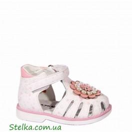 Детские закрытые босоножки для девочки, ортопедическая обувь Сказка, 5862-1