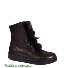 Зимние ботинки для девочки, качественная обувь Tobi, 6018-1