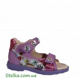 Ортопедические босоножки на девочку, обувь ТМ Minimen РАСПРОДАЖА, 6091-1