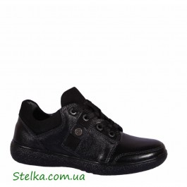 Туфли кожаные для мальчика подростка, школьная обувь Constanta, 6102-1