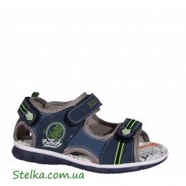 Детские босоножки для мальчика, обувь B&G, 6147-1