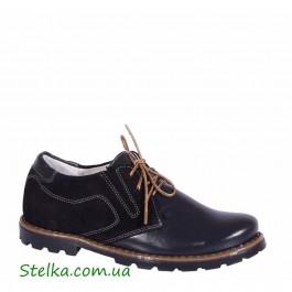 Школьные туфли для мальчика подростка, обувь Tobi, Скидка 6163-1
