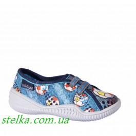 Текстильные тапочки для садика Viggami 6240-1 Poland