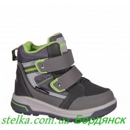 Детские зимние ботинки для мальчика, B&G Termo обувь 6293-1