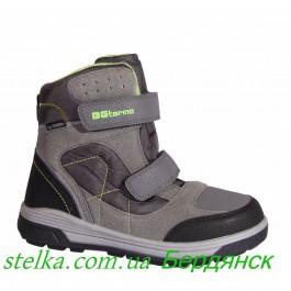 B&G Termo, зимние ботинки для мальчика подростка, 6289-1