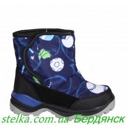 Детская термо обувь Сказка, зимние сапоги для мальчика, 6318-1