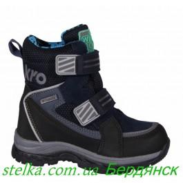 Зимние ботинки для мальчика, Termo обувь Krokky, 6333-1