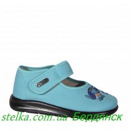 Текстильные обувь для садика, детские тапочки Belsta, 6339-1