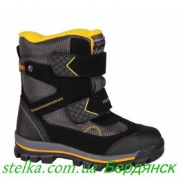 Зимняя обувь для мальчика, мембранные ботинки WeeStep, 6346-1