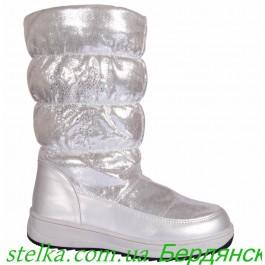 Дутики для девочек, зимняя обувь Clibee 6349-1