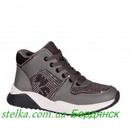 Подростковая обувь для девочек, демисезонные ботинки WEESTEP, 6375-1