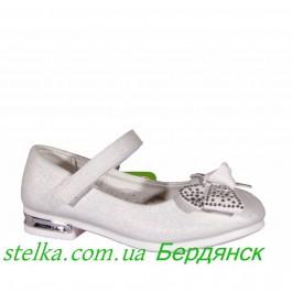 Нарядные детские туфли для девочек, обувь KIMBOO, 6371-1