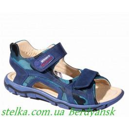 Подростковые босоножки для мальчика, Брендовая обувь Minimen, 6449-1