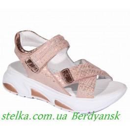 Босоножки на платформе для девочек, брендовая обувь Happy Walk, 6472-1