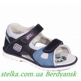 Детские ортопедические босоножки для мальчика, обувь Lapsi, 6476-1