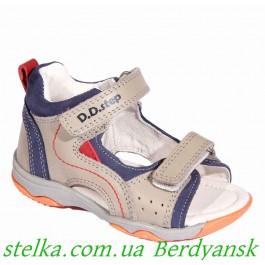 Кожаные босонжки для мальчика, венгерская обувь D.D.Step, 6477-1