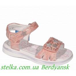 Нарядные детские босоножки для девочки, обувь ТМ Weestep, 6490-1