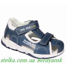 Закрытые босоножки для мальчика, детская обувь Weestep, 6502-1