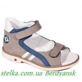 Детские ортопедические босоножки для мальчика, обувь ТМ Happy Walk (Турция), 6509-1