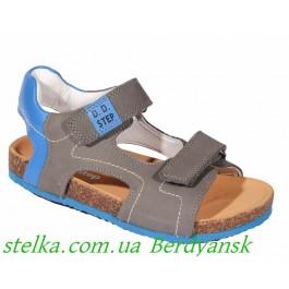 Кожаные босоножки для мальчика, обувь DDStep, 6522-1