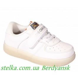 Белые кроссовки ТМ Сказка, 6388-1