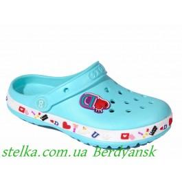 Детские кроксы на девочку, ТМ DaGo Style, 6554-1