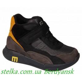 Детские осенние ботинки для мальчика, обувь Минимен, 6576-1