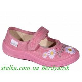 Текстильная обувь на девочку, обувь Waldi, 6593-1