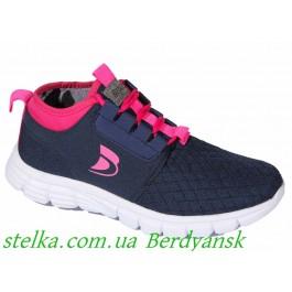 Текстильные кроссовки для девочки подростка, ТМ Befado, 6613-1