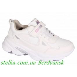 Белые кроссовки на девочку, ТМ Weestep, 6615-1