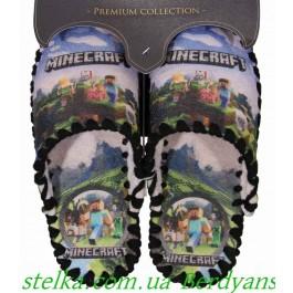 Детские фетровые тапочки для мальчика, ТМ Vends, 6625-1