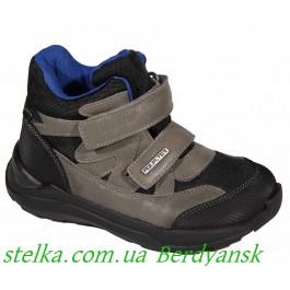 Демисезонные ботинки для мальчика, D.D.Step (aquatex), 6655-1