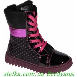 Зимняя обувь Lapsi, детские ботинки для девочек, 6668-1