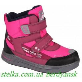 Детские зимние ботинки на девочку, B&G termo, 6676-1