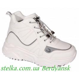 Зимние кроссовки на платформе для девочки подростка, ТМ Qwest, 6694-1