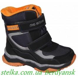 Детские термоботинки мальчикам, обувь Weestep, 6692-1