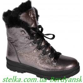Ботинки на девочку подростка, зимняя обувь Maxus, 6697-1