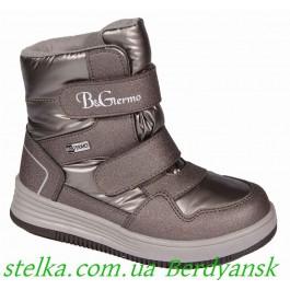 Детские зимние ботинки на девочку, обувь B&G termo, 6706-1